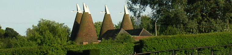 Oast Houses in East Farleigh.jpg - Photo by Adam Palmer.