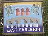 East Farleigh Village Sign