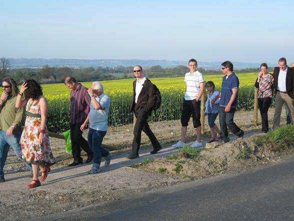 Forge Lane Footpath Procession